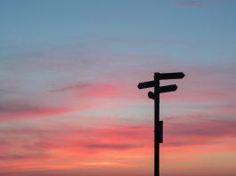 Multidirectional Sign, reflecting decision making