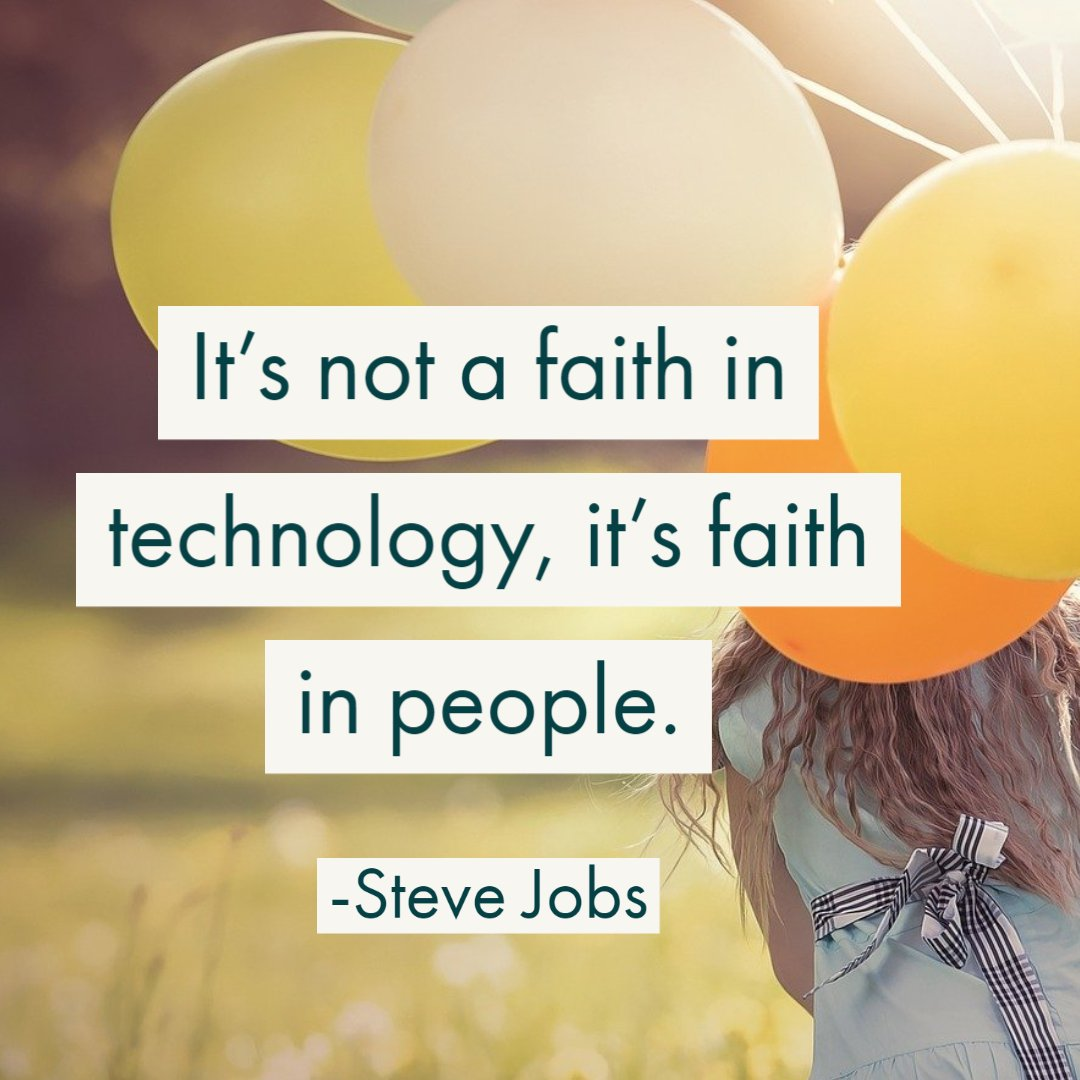 Quote about faith in people